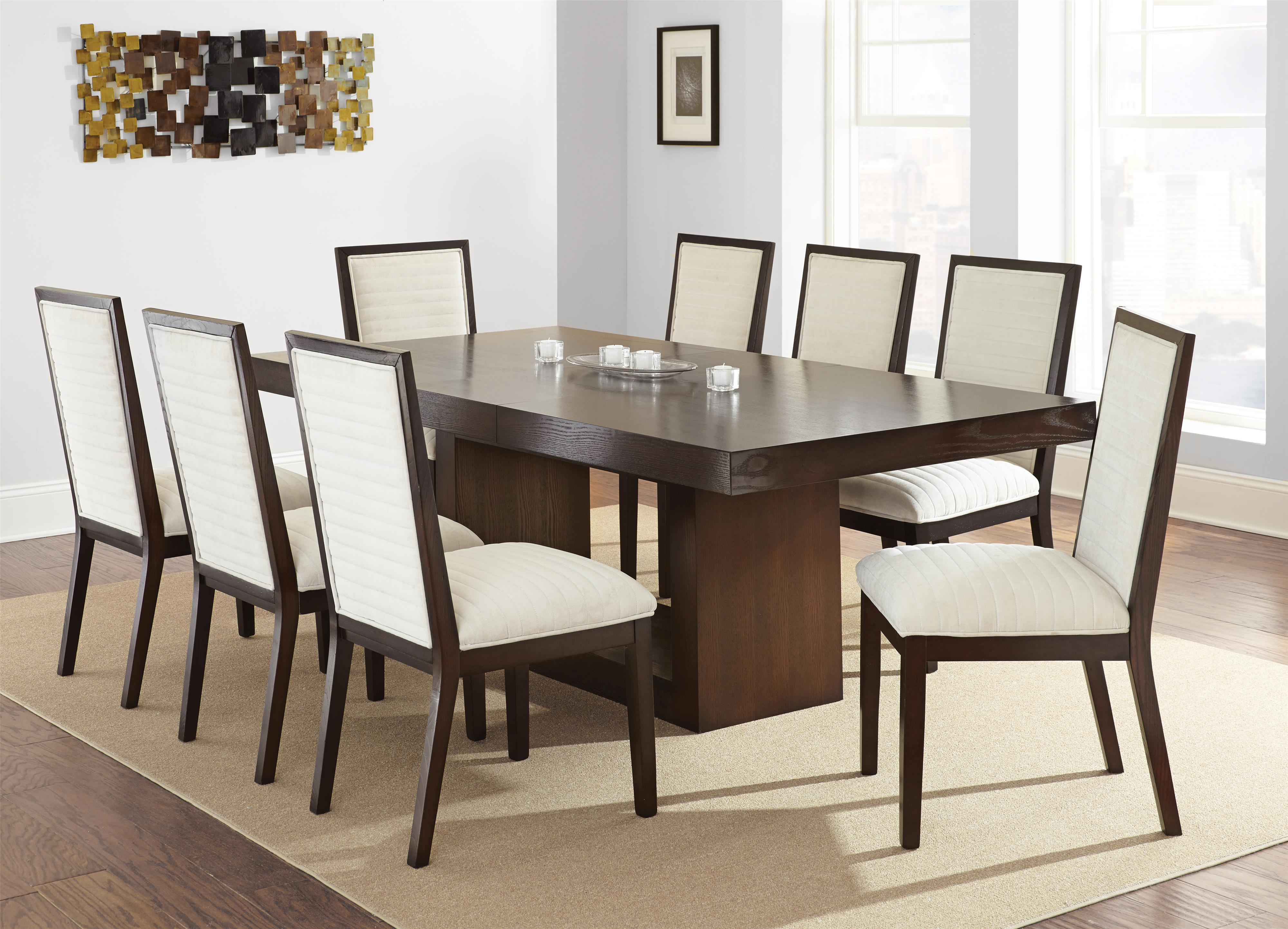 Steve Silver Antonio 7 Piece Dining Set | Northeast Factory Direct | Dining  7 (or More) Piece Sets Cleveland, Eastlake, Westlake, Mentor, Medina, Ohio