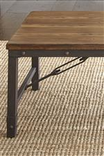 Iron Bases Feature Nailheads and Cable Stretchers for an Authentic Industrial Look