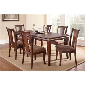 Steve Silver Aubrey Transitional Dining Room Table