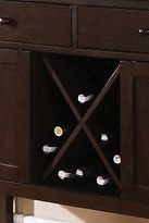 X-Shaped Wine Storage Found in Server