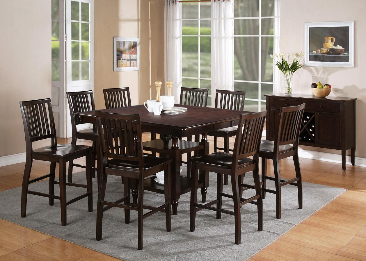 Steve Silver Candice Casual Dining Room Group - Item Number: CD Espresso C Dining Room Group 4