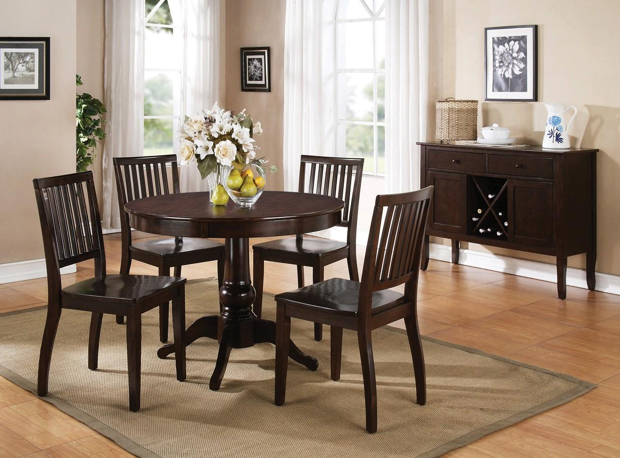 Steve Silver Candice Casual Dining Room Group - Item Number: CD Espresso C Dining Room Group 2