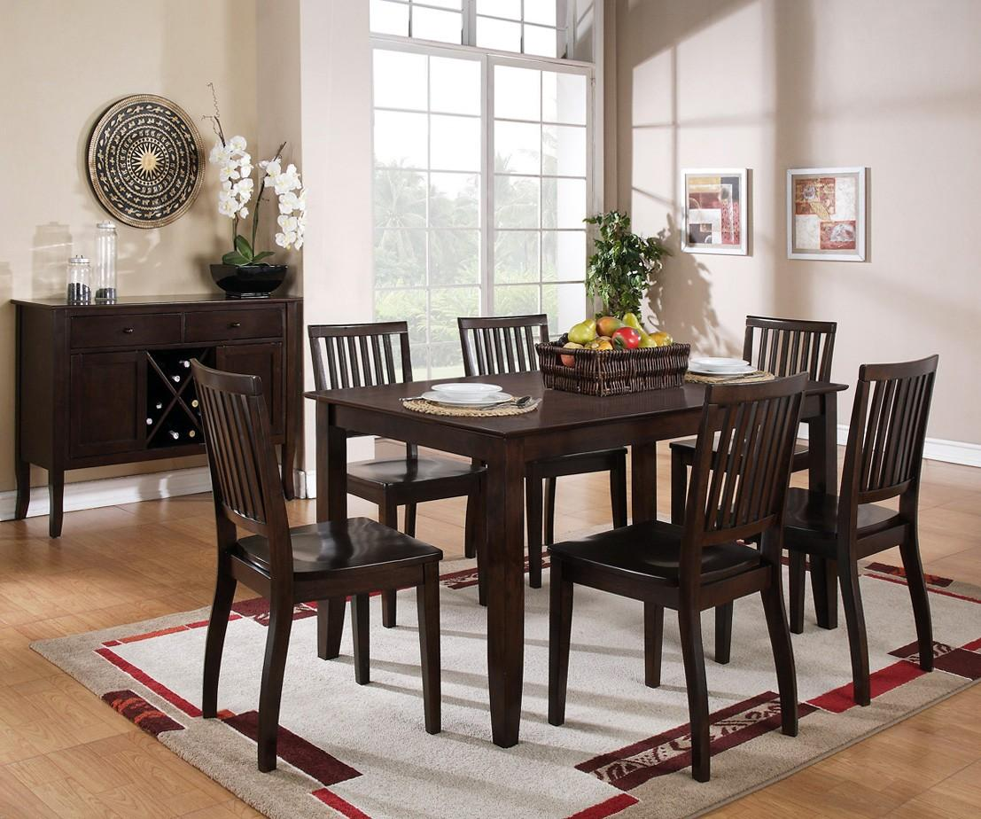 Steve Silver Candice Casual Dining Room Group - Item Number: CD Espresso C Dining Room Group 1