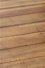 Paneled Wood Top