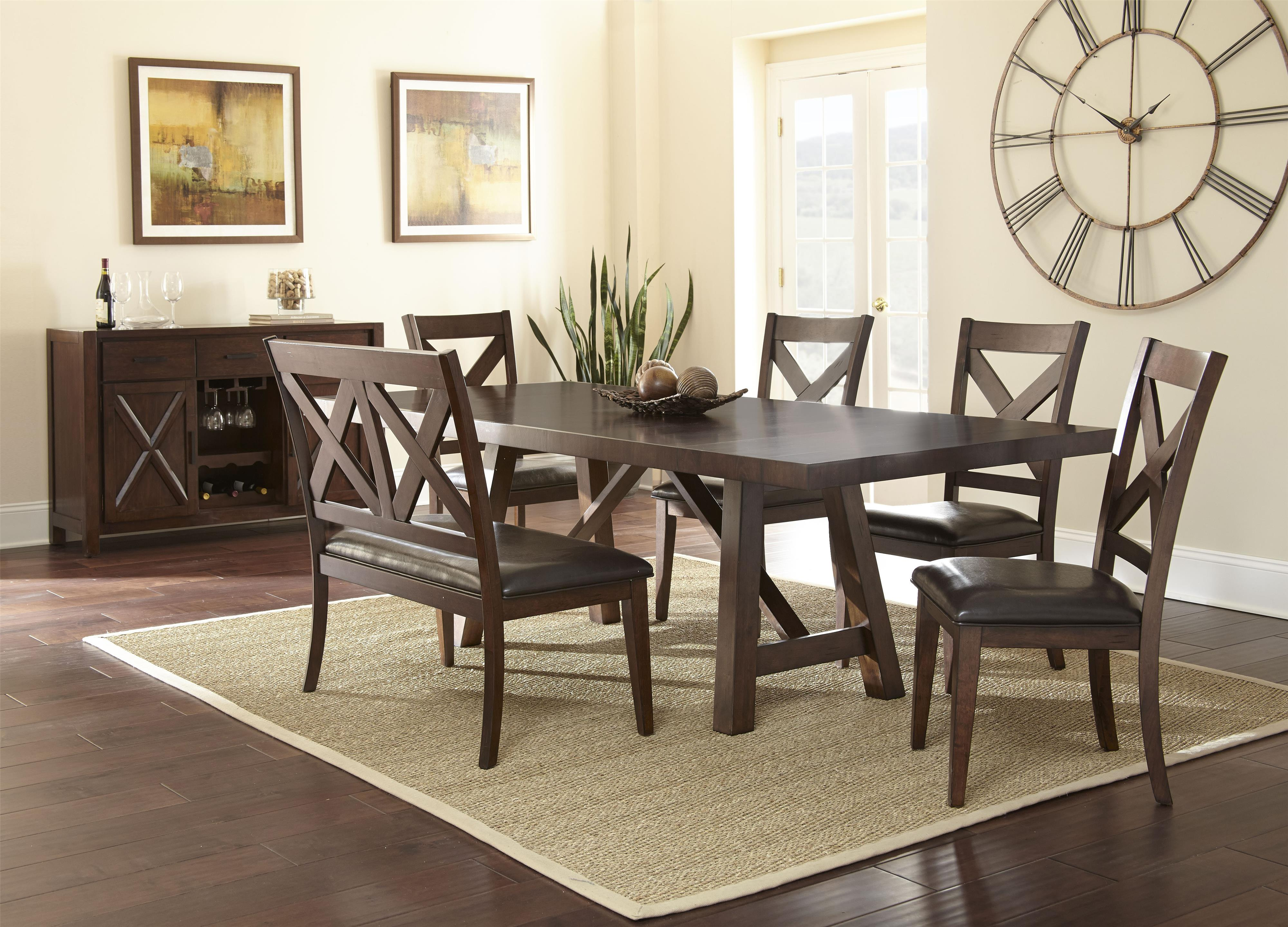 Steve Silver Clapton Casual Dining Room Group - Item Number: CT Dining Room Group 1