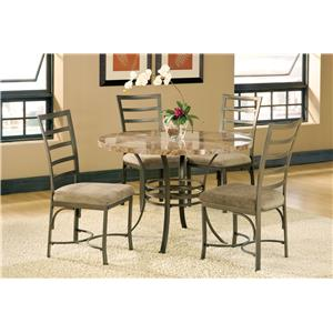 Morris Home Furnishings Collison Counter Height Table with Chairs