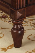 Steve Silver Davina Single Drawer Traditional End Table with Nailhead Trim