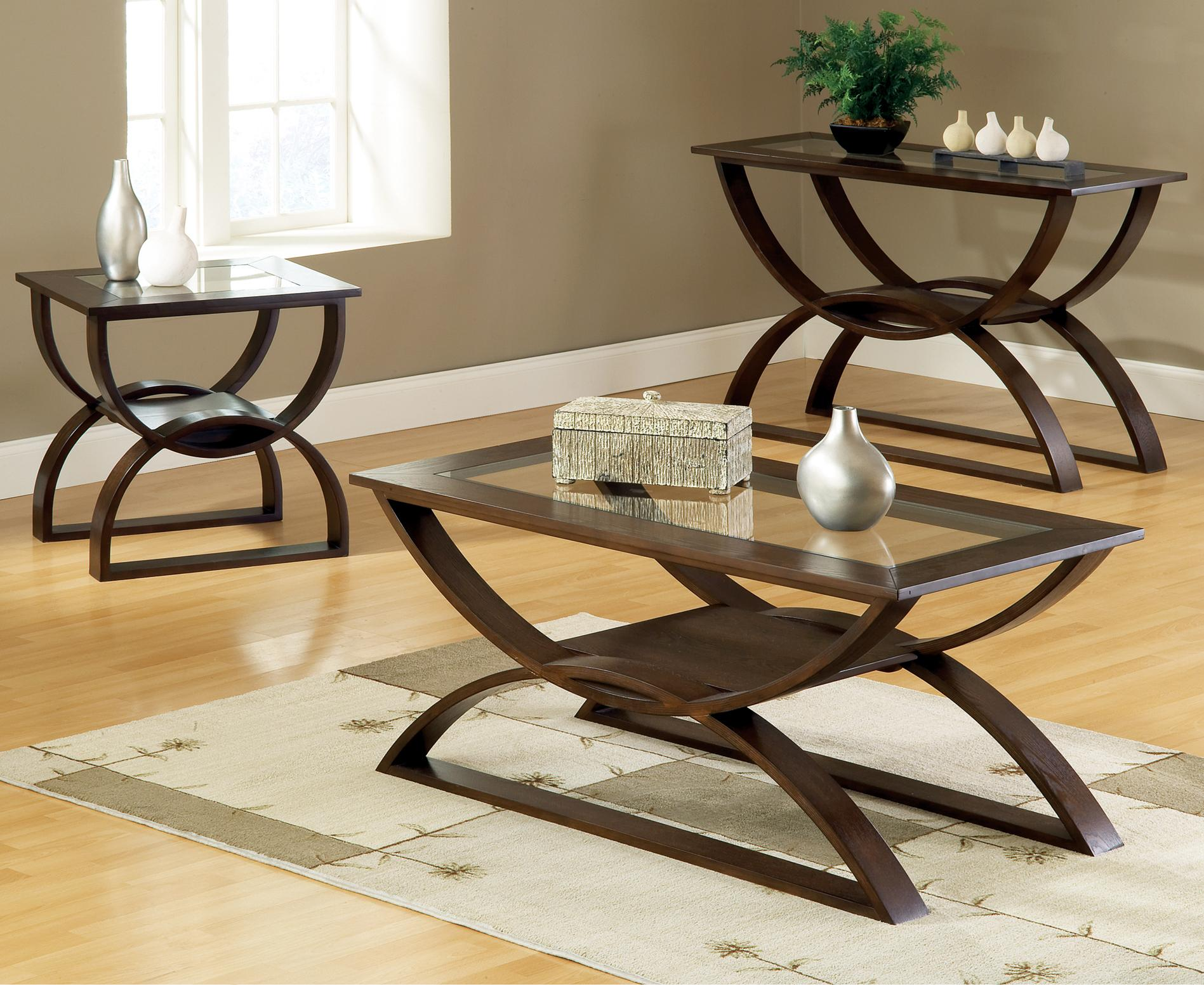 Steve Silver Dylan Square End Table with Curved Base | Walker\u0027s Furniture | End Table Spokane Kennewick Tri-Cities Wenatchee Coeur D\u0027Alene Yakima ... & Steve Silver Dylan Square End Table with Curved Base | Walker\u0027s ...
