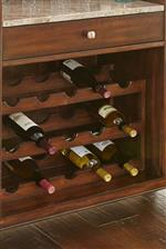 Bottle Storage on Bar
