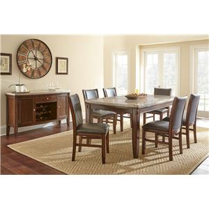 Morris Home Furnishings Eileen Formal Dining Room Group