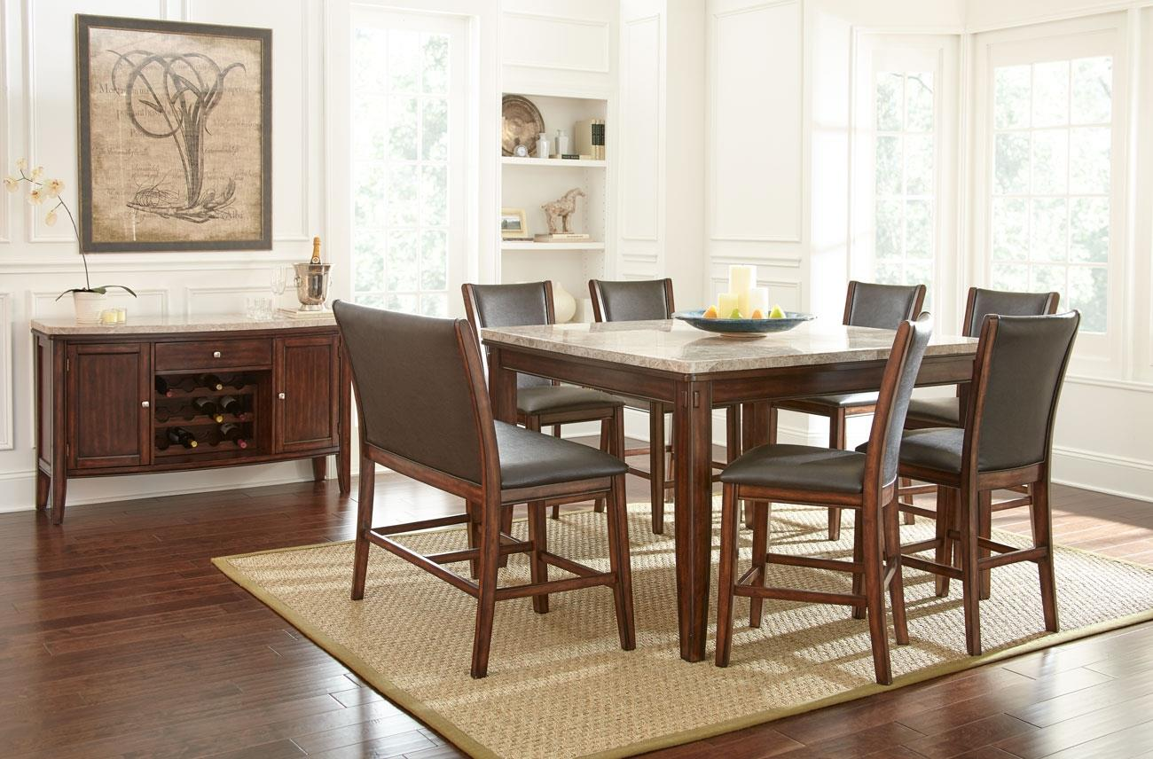 Steve Silver Eileen Casual Dining Room Group - Item Number: EE Dining Room Group 2