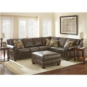 Vendor 3985 Escher Stationary Living Room Group