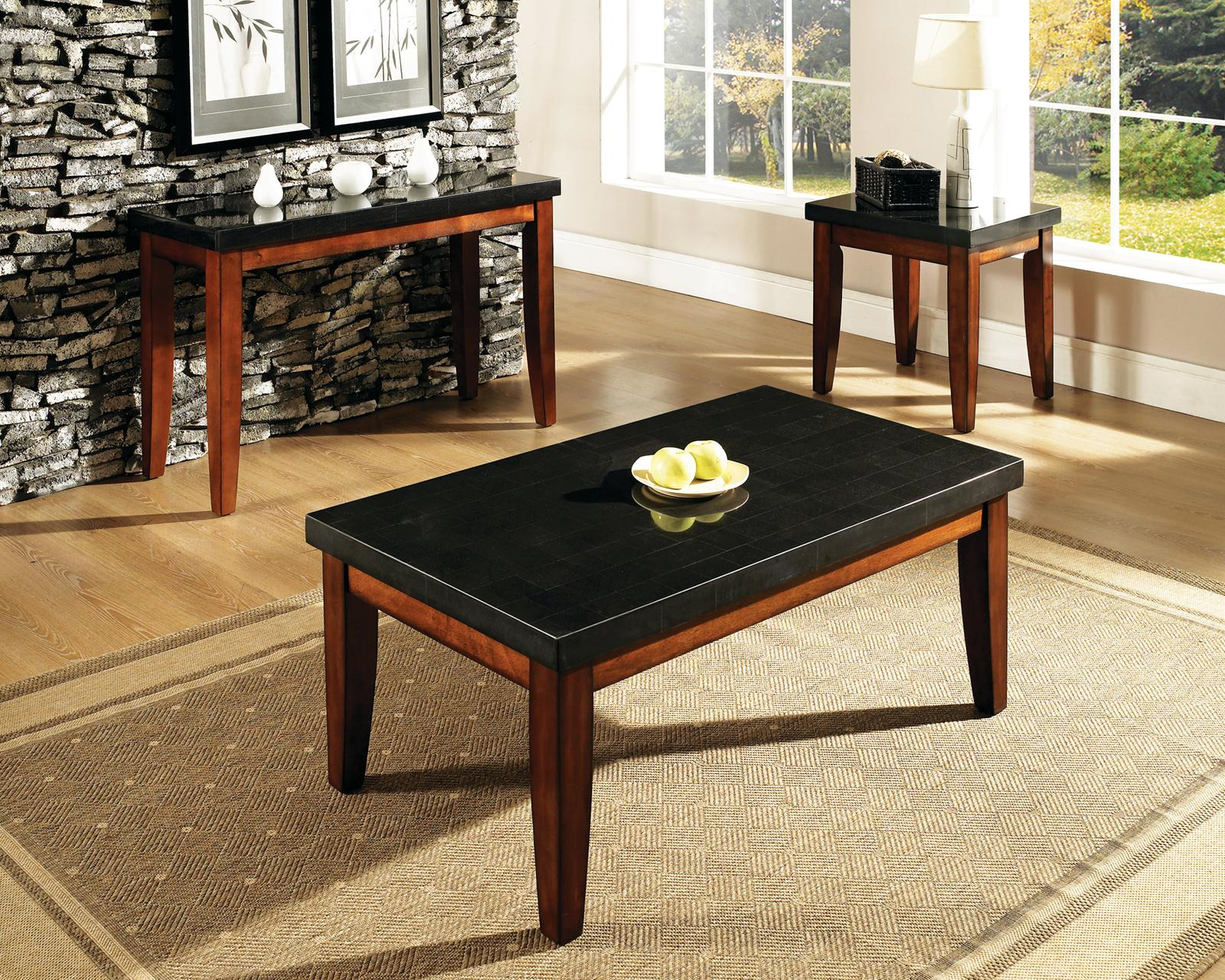 Steve Silver Granite Bello Top End Table