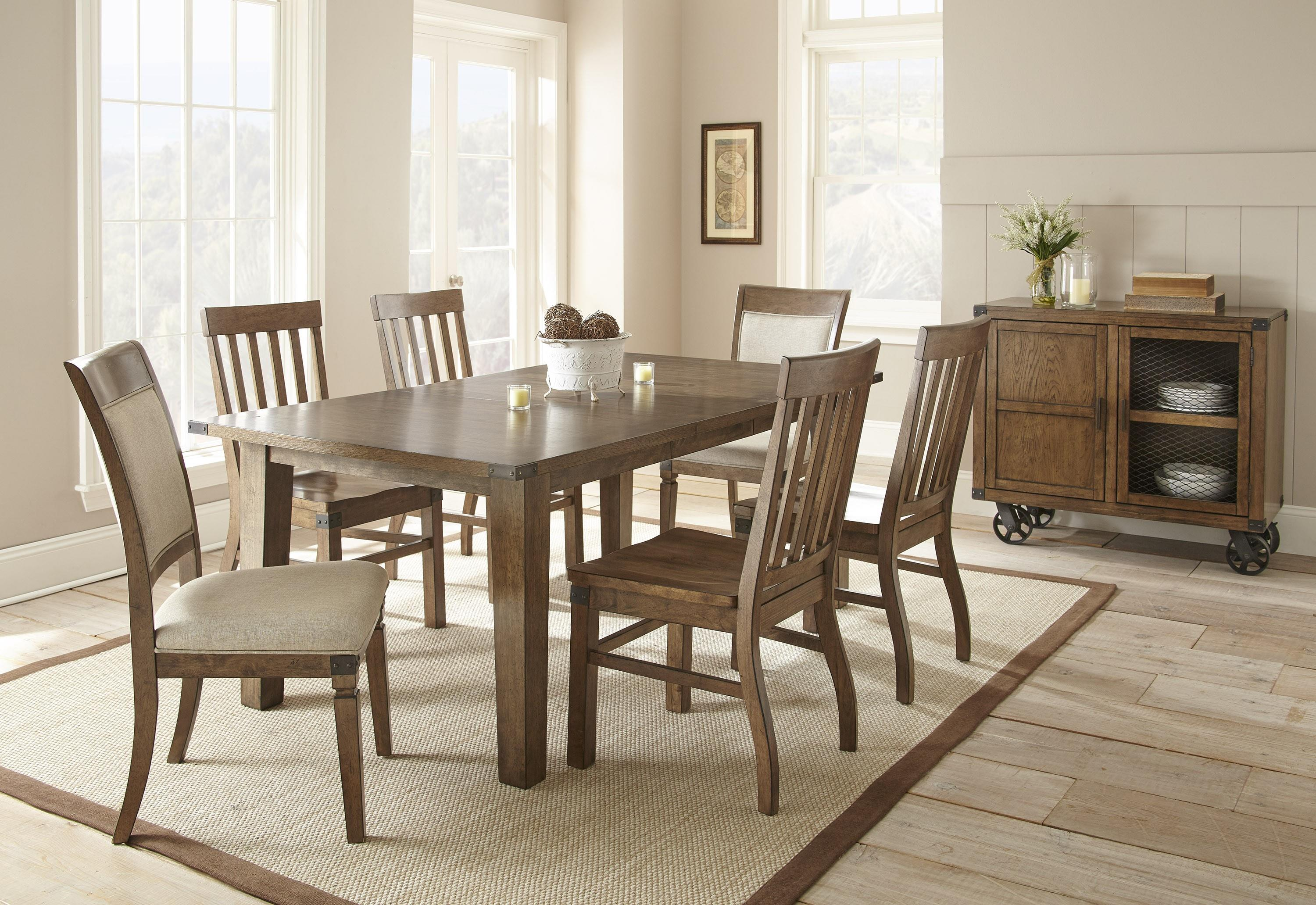 Steve Silver Hailee Casual Dining Room Group 2 - Item Number: HA Dining Room Group 1
