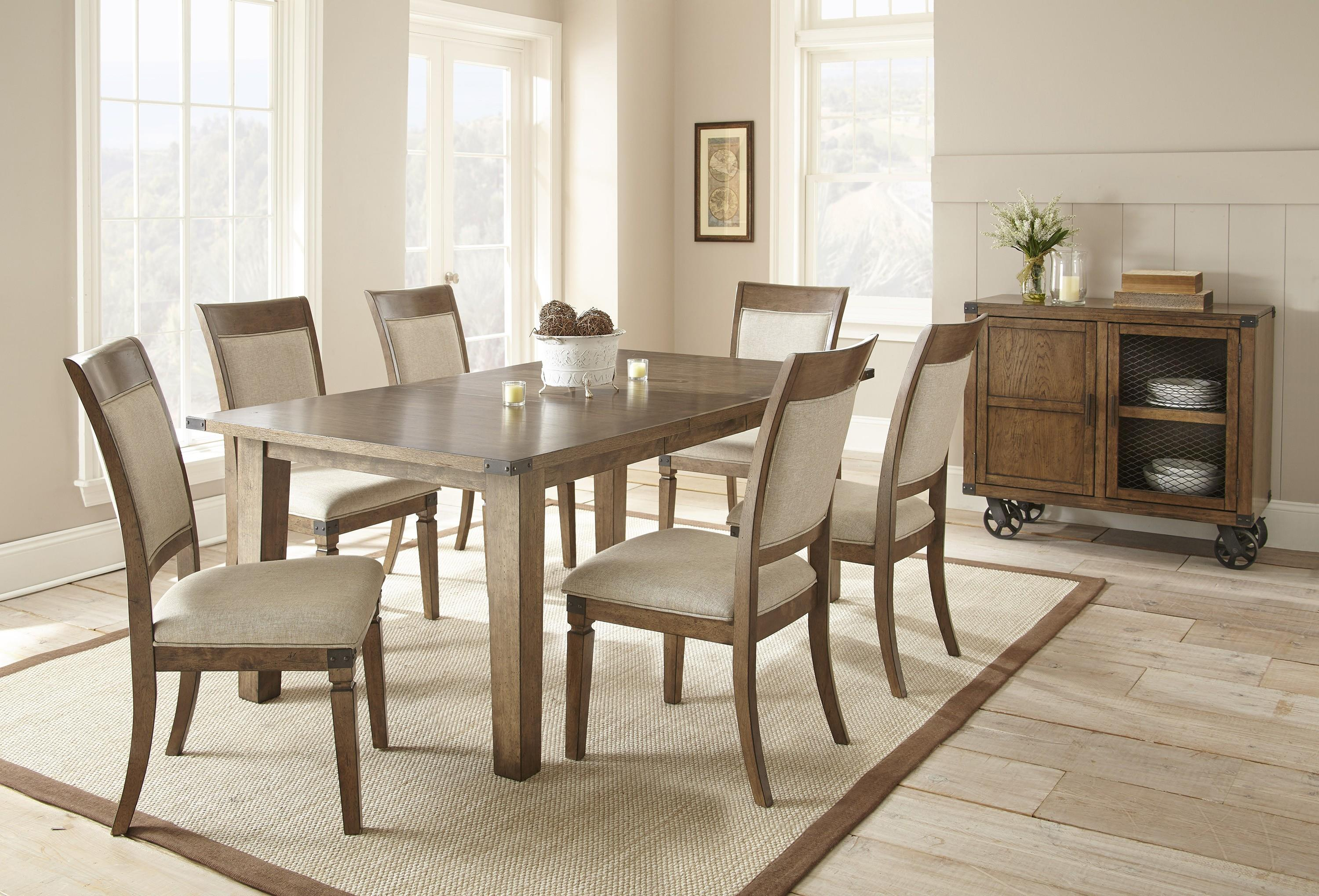 Steve Silver Hailee Casual Dining Room Group 3 - Item Number: HA Dining Room Group 2