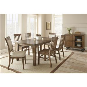 Morris Home Furnishings Hailee Casual Dining Room Group 2