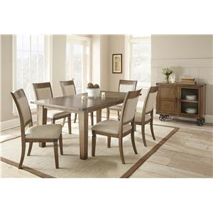 Morris Home Furnishings Hailee Casual Dining Room Group 3