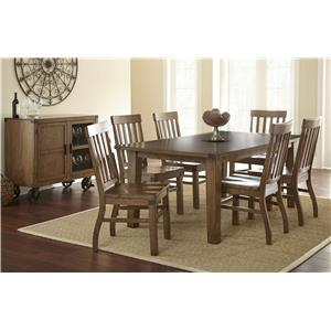Morris Home Furnishings Hailee Casual Dining Room Group 1