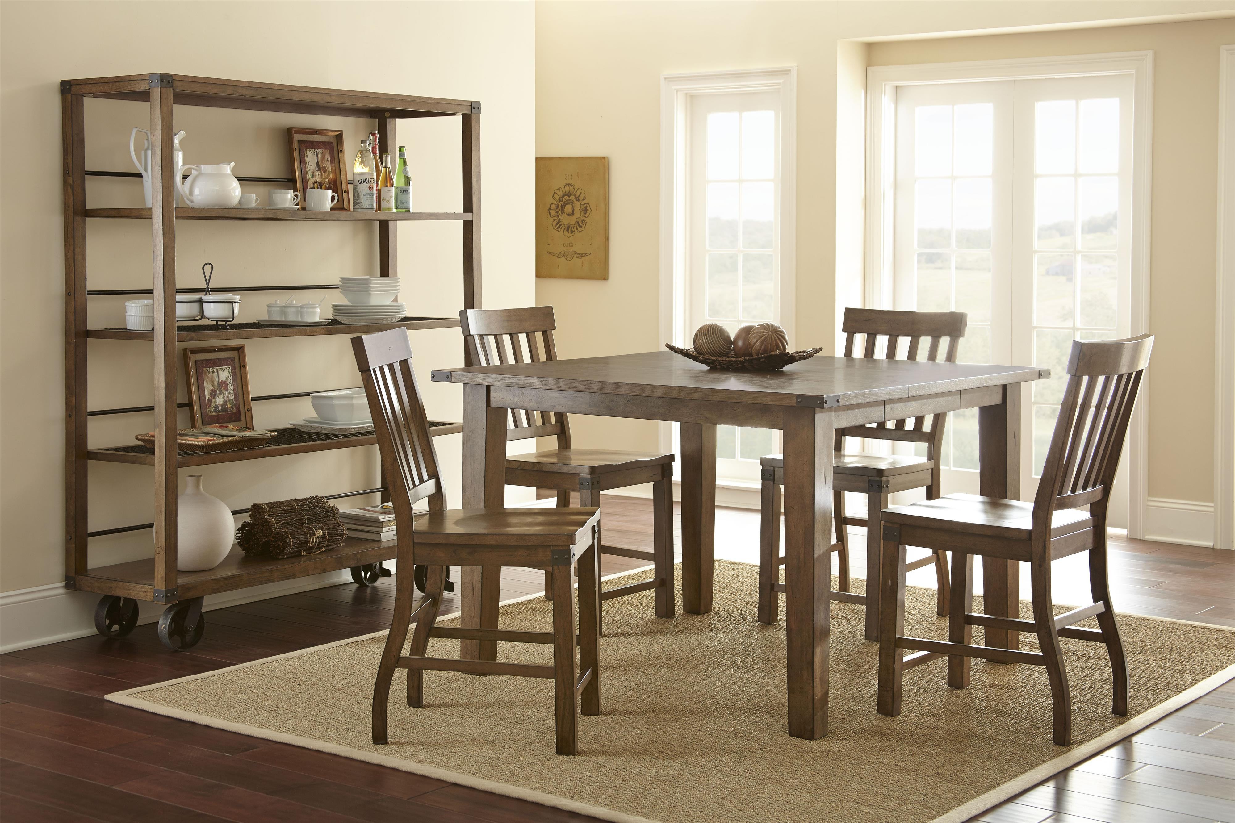 Steve Silver Hailee Casual Dining Room Group 4 - Item Number: HA Dining Room Group 4
