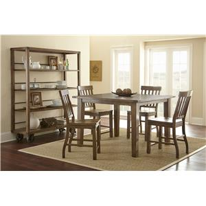 Morris Home Furnishings Hailee Casual Dining Room Group 4