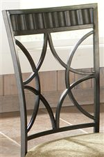 Contemporary Metal Chair Backs