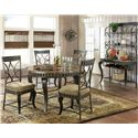 Vendor 3985 Hamlyn Casual Dining Room Group - Item Number: HL C Dining Room Group 1