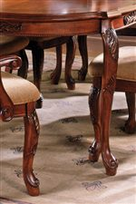 Carved Cabriole Chair & Table Legs