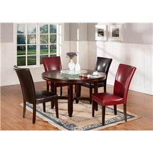 Steve Silver Hartford 5-Piece Contemporary 62