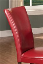 Curved Parsons Side Chair Backrests