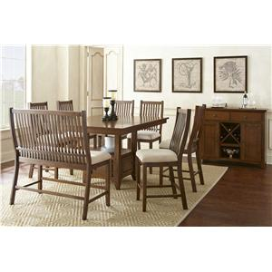 Steve Silver Kayan Casual Dining Room Group