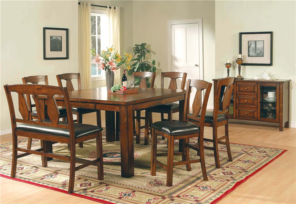 Steve Silver Lakewood  Casual Dining Room Group - Item Number: LK C Dining Room Group 2