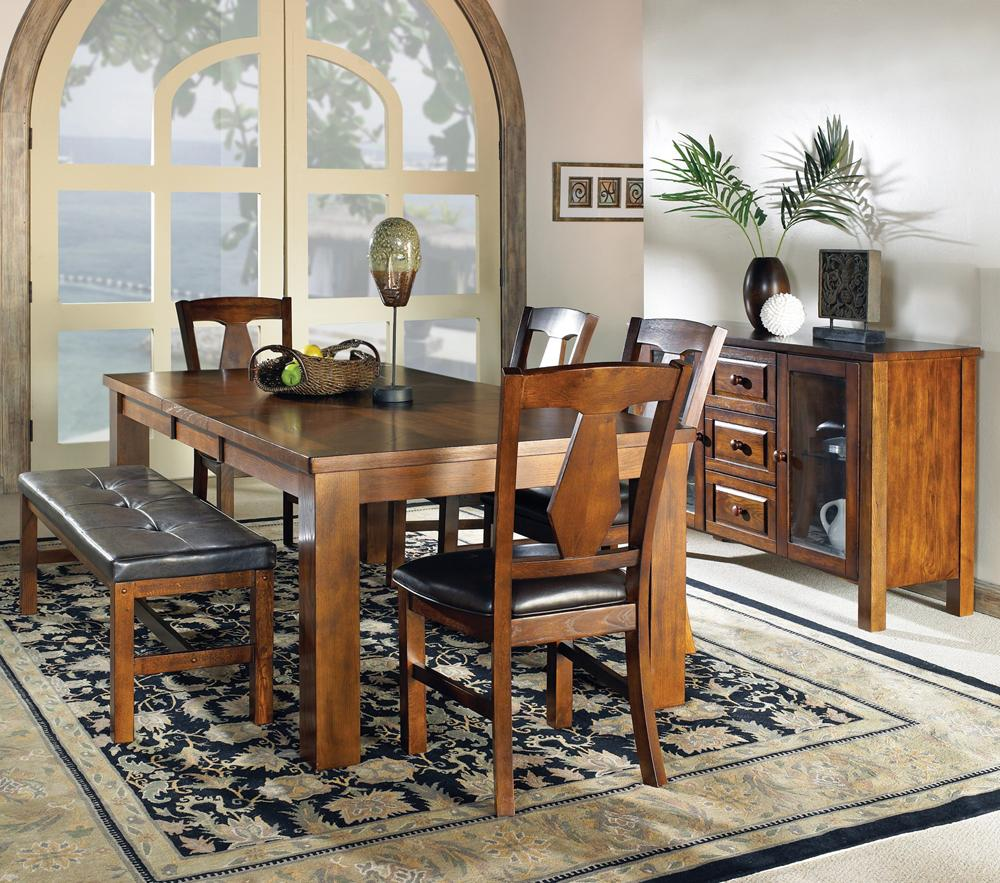 Steve Silver Lakewood  Casual Dining Room Group - Item Number: LK C Dining Room Group 1