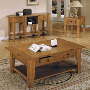Steve Silver Liberty Casual Chairside End Table
