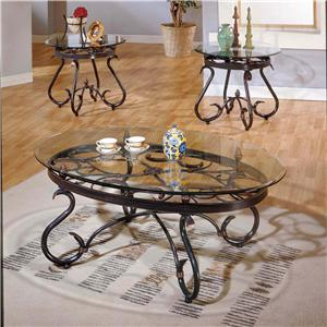 Morris Home Furnishings Lola Traditional 3-Pack Occasional Table Set