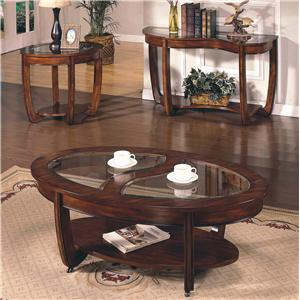 Morris Home Furnishings London  Round End Table