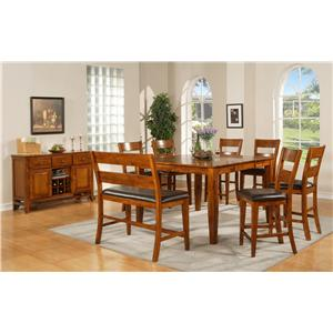 Morris Home Furnishings Mango Casual Dining Room Group