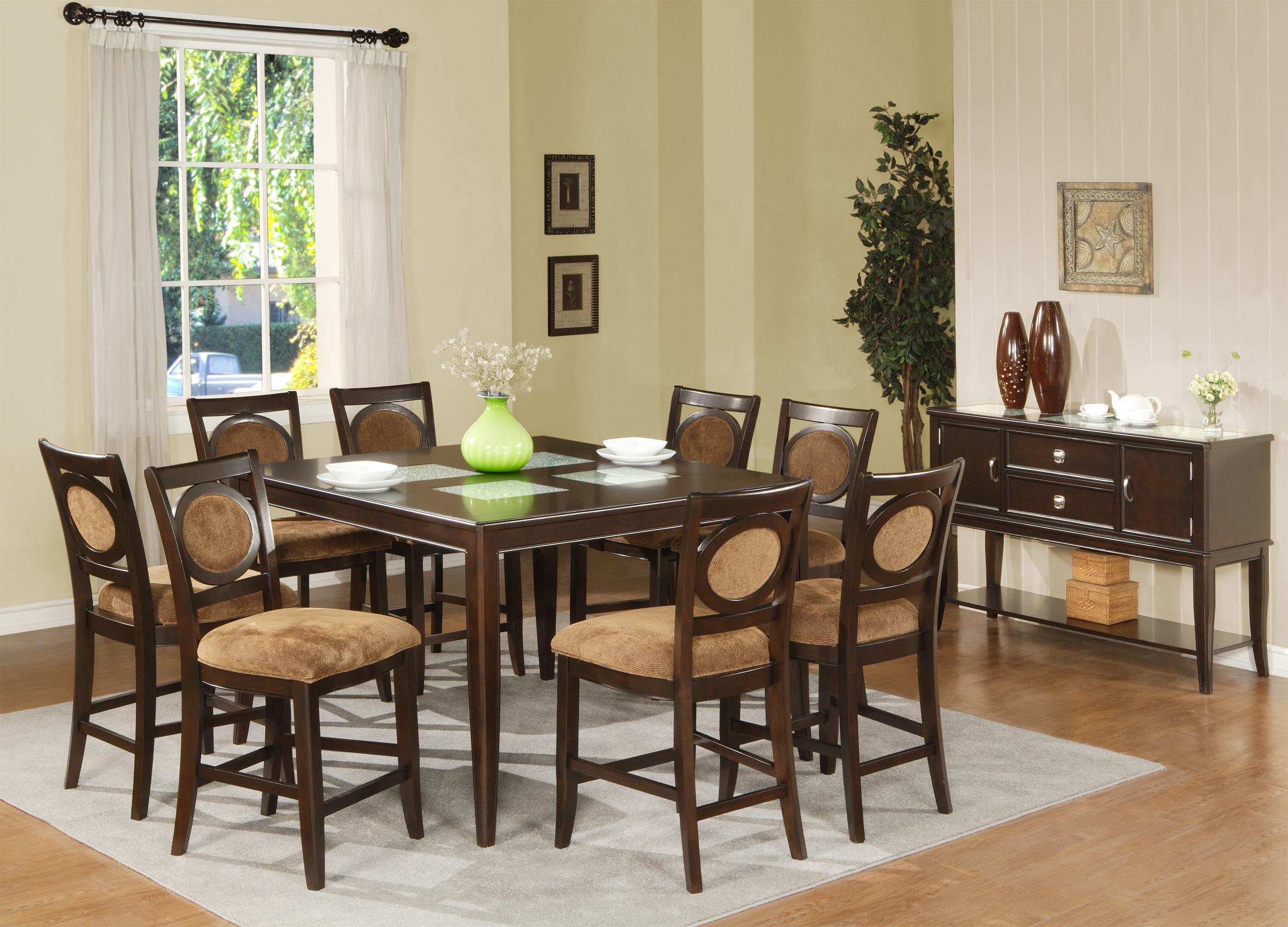 Steve Silver Montblanc Formal Dining Table  Wayside Furniture  Dining  Room Table