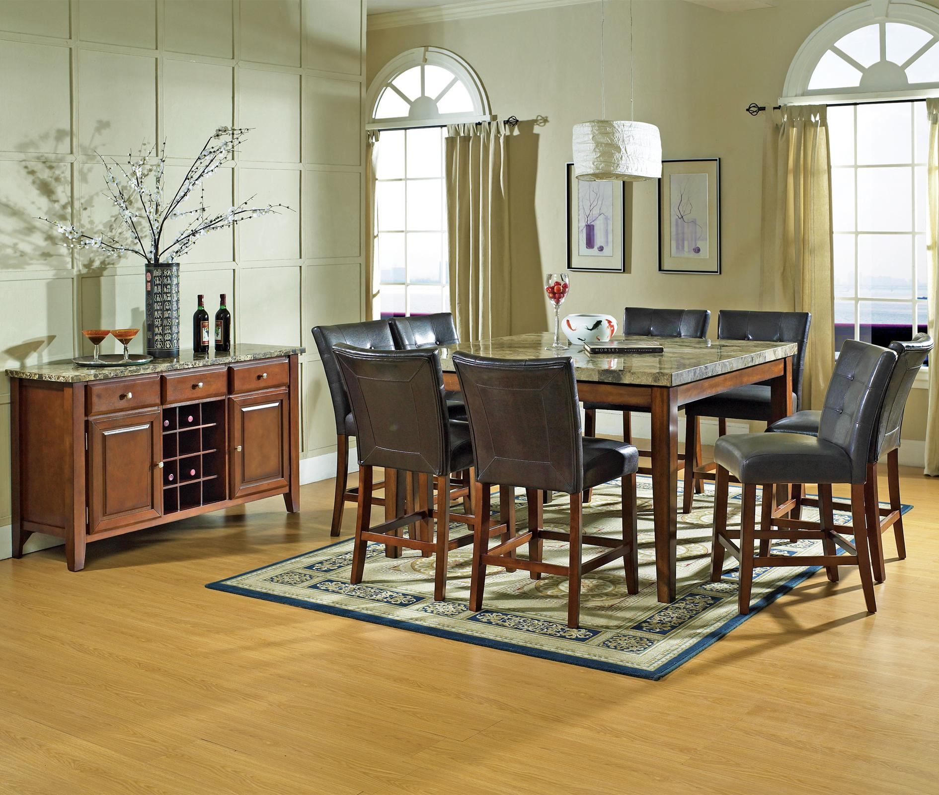 Steve Silver Montibello Casual Dining Room Group - Item Number: MN C Dining Room Group 2