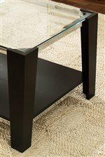 Corner Designed Legs