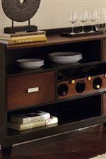 Drawer, Shelf, and Wine Bottle Storage