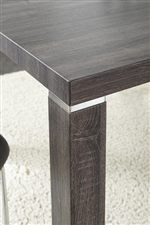 Chrome Table Leg Accent