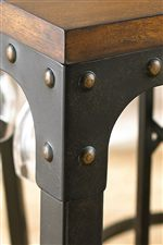 Industrial Table Corners