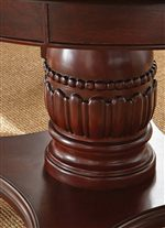 Carved Pedestal Column