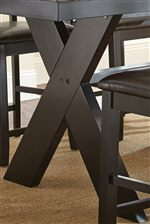 X Shaped Table Base