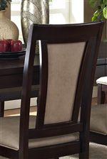 Splat Backrest with Upholstery