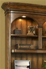 Three Way Touch Lighting In Bookcase & Hutch