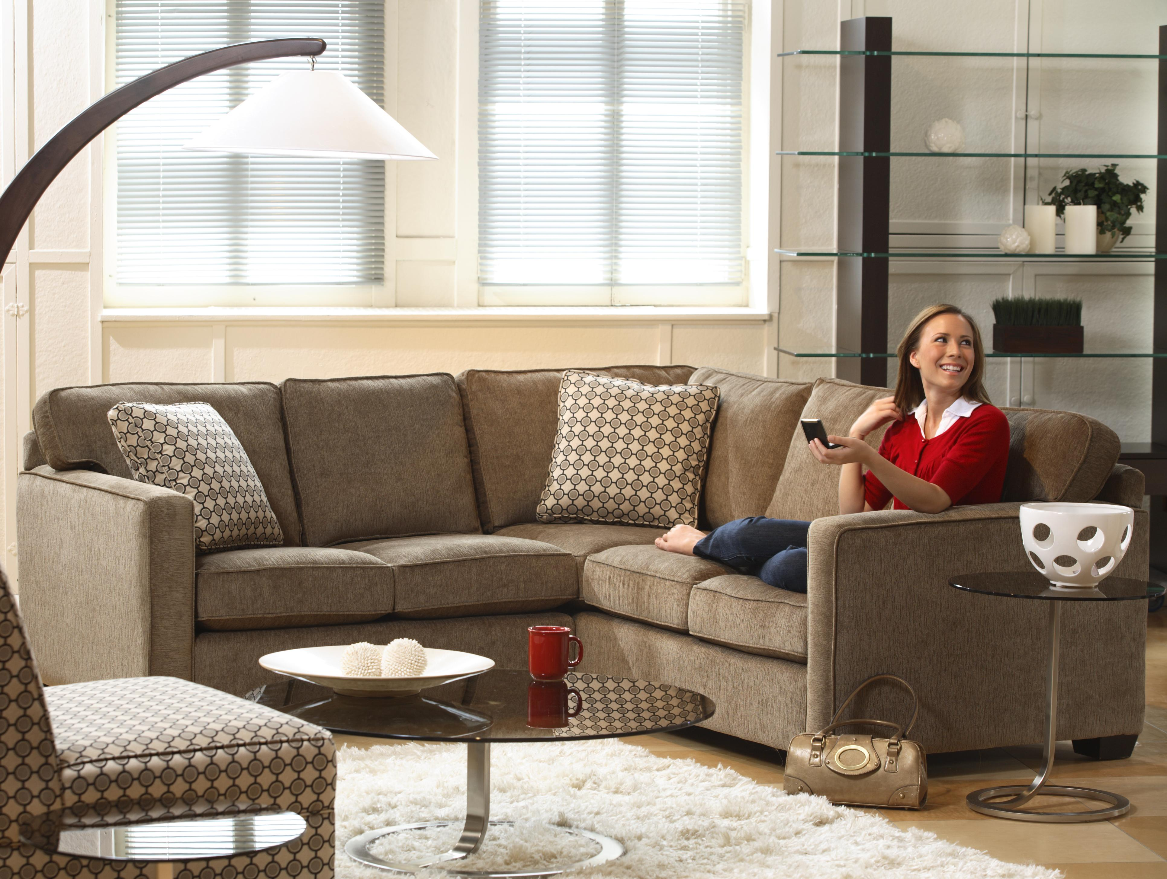 Stylus 5901 Five Seat Sectional Sofa
