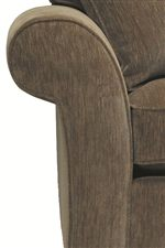Traditional Rounded Arms Decor Furniture with a Classic Style that Features a Timeless Decorative Quality