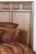 Tall Framed Headboard with Slate Tiles
