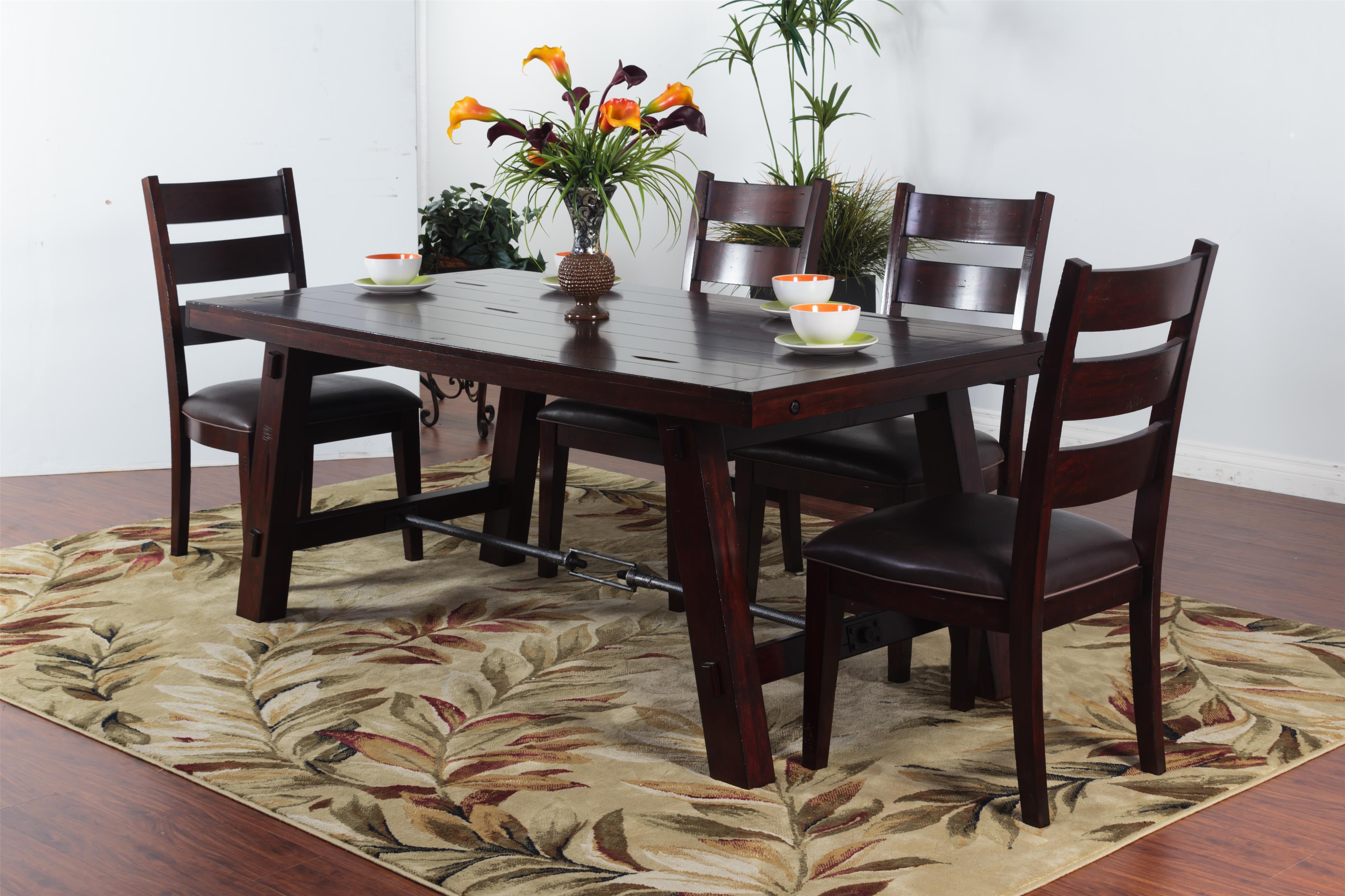 Sunny Designs Vineyard Mahogany Buffet Sparks HomeStore & Home